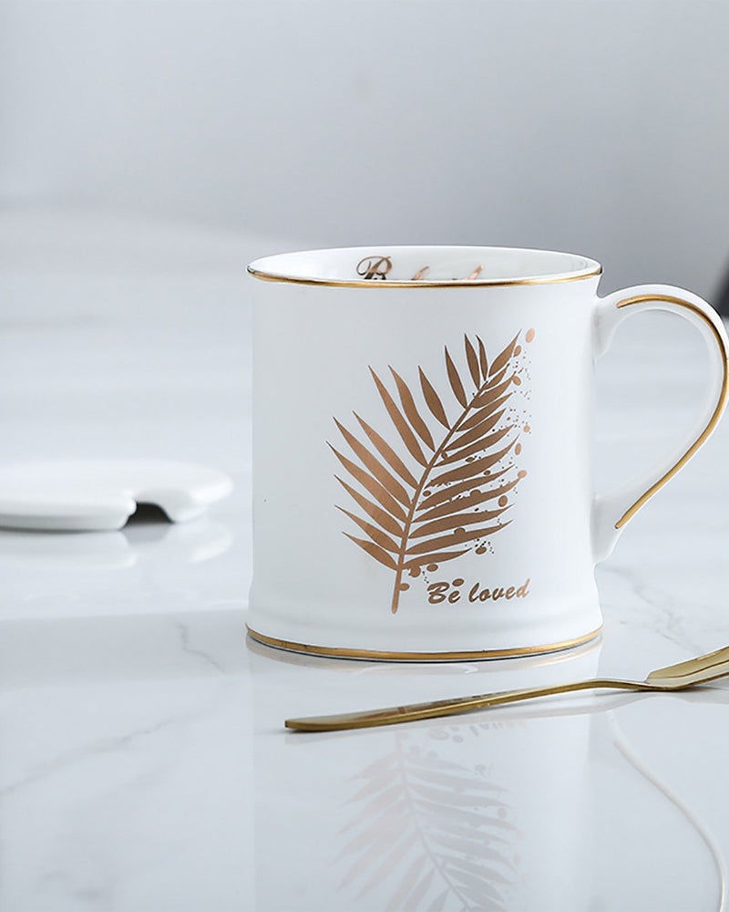 Luxury Coffee Mug- White