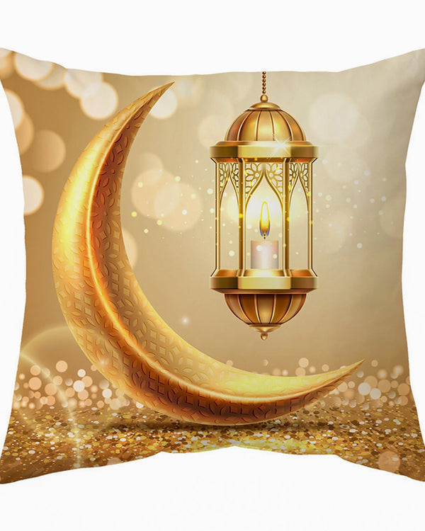 Moon Pillow Cover- Gold