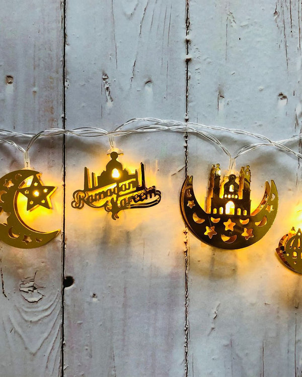 Ramadan/Eid Lantern String Lights