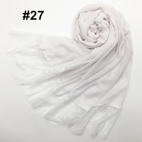 White Lace Scarf (2336403292217)