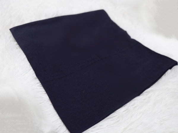 Navy blue Cotton Undercap