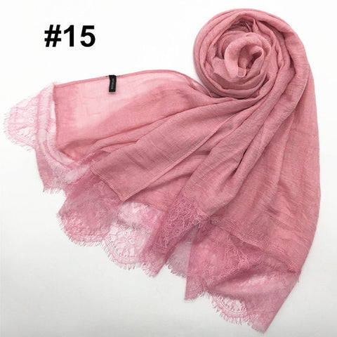 Light Copper Chiffon Bubble Scarf