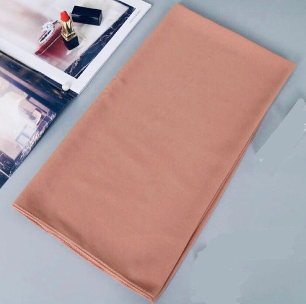 Peach Chiffon Bubble Scarf (4623883731001)