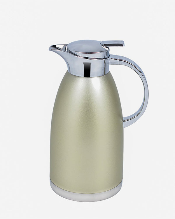 Essential Thermal Flask- Silver/Gold