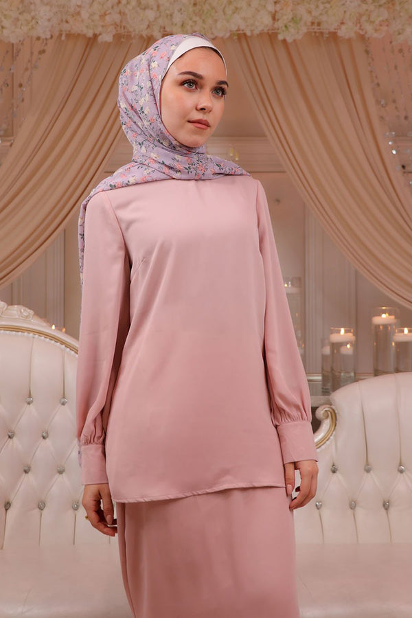 Premium Chiffon Blouse - Light Pink