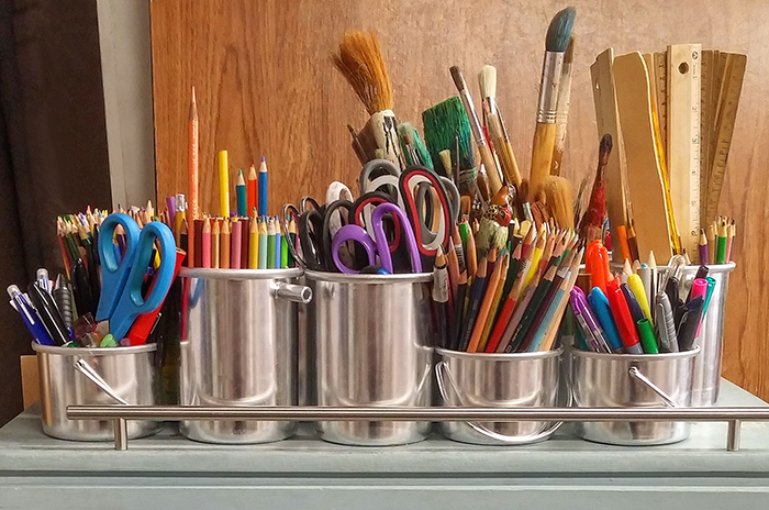 How to Keep Your Art Supplies Organized and in Top Shape