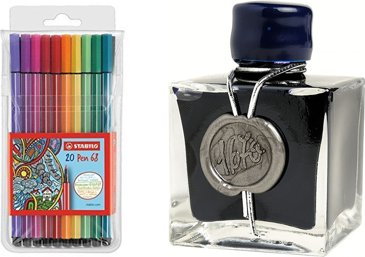 Three of the Best Paper, Pen, and Ink Combinations