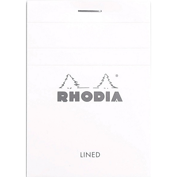 Rhodia Ice Notepad Top Staplebound 3 x 4 Lined 80 sheets