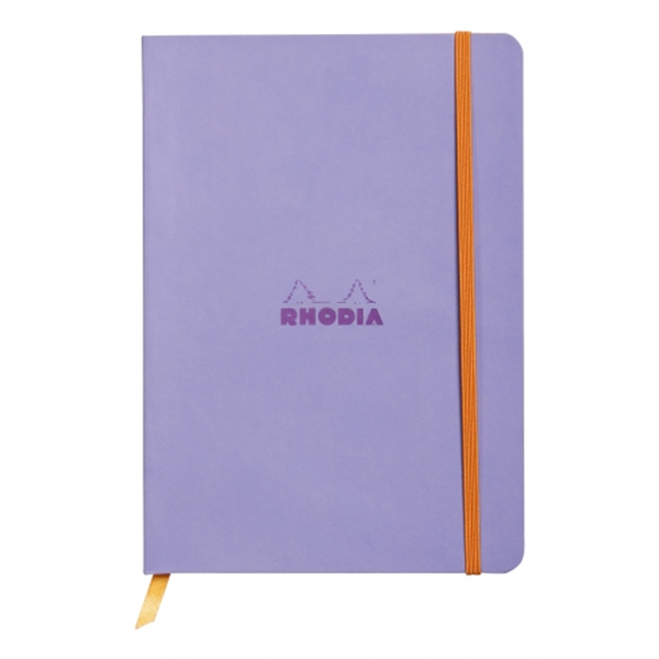 Rhodia Soft Cover Rhodiarama Notebooks, 6 x 8 1/4 (A5), Iris, Lined