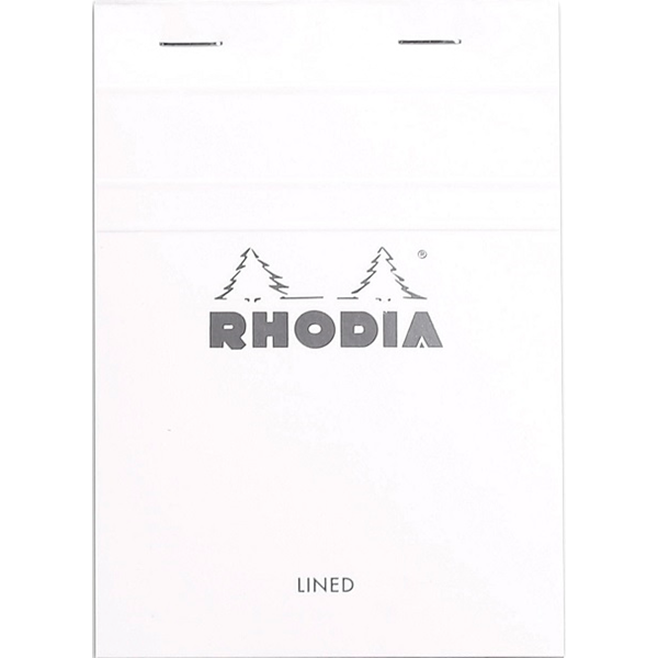 Rhodia Ice Notepad Top Staplebound 4 x 6 Lined 80 sheets