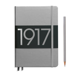 Leuchtturm1917 Notebook Medium A5 Lined Silver