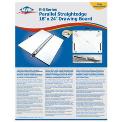 "Alvin PXB Series Portable Parallel Straightedge Board 18"" x 24"""