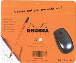 Rhodia Accessories Mouse Pad 7 ½ x 9 Graph Orange 30 sheets