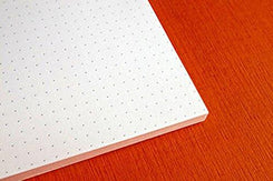 Ecoqua Dot Notebook 5.8X8.25 Blue