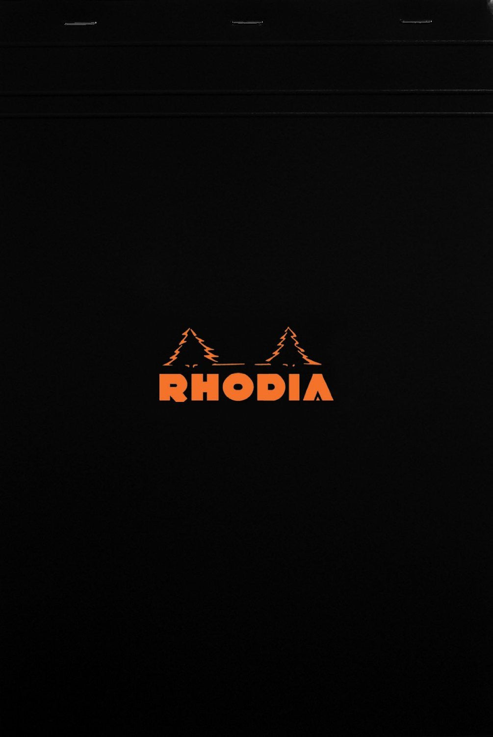 Rhodia Classic French Paper Pads graph 8 1/4 in. x 11 3/4 in. black