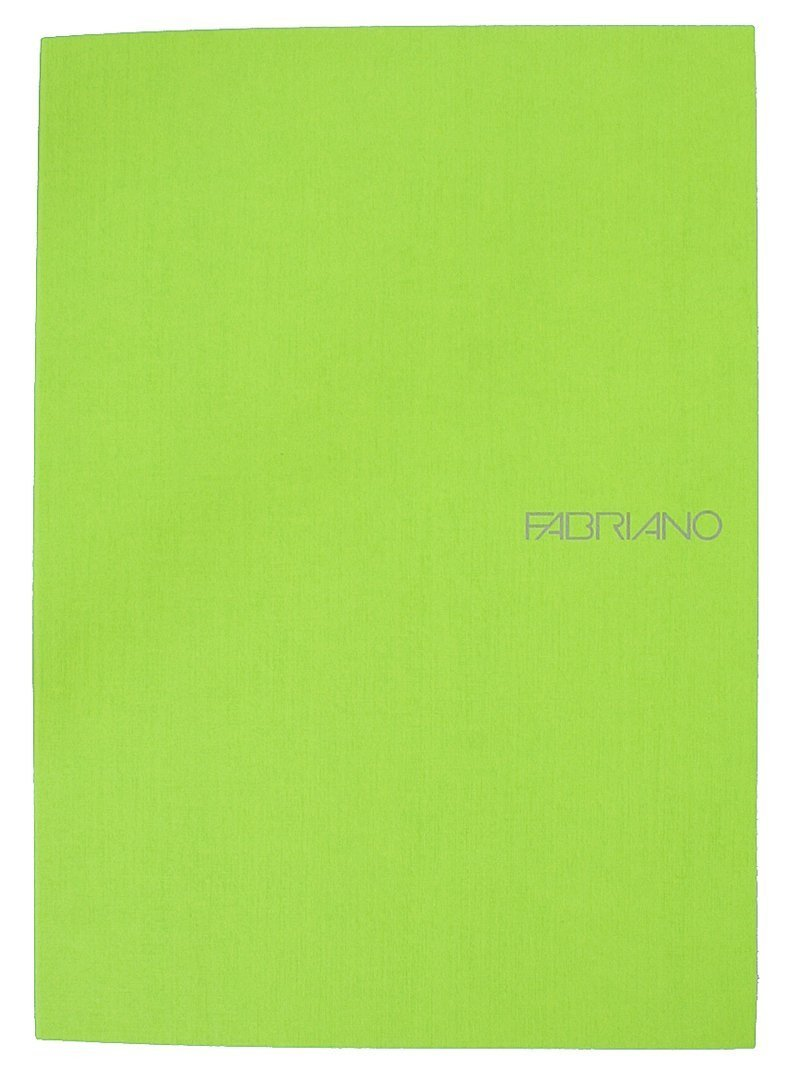 Ecoqua Dot Notebook 5.8X8.25 Lime