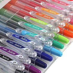 Pilot Juice Gel Ink Ballpoint Pen, 0.5mm, 12 Color Set