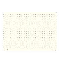 Leuchtturm1917 Medium A5 Notebook Hardcover Dot Grid Red