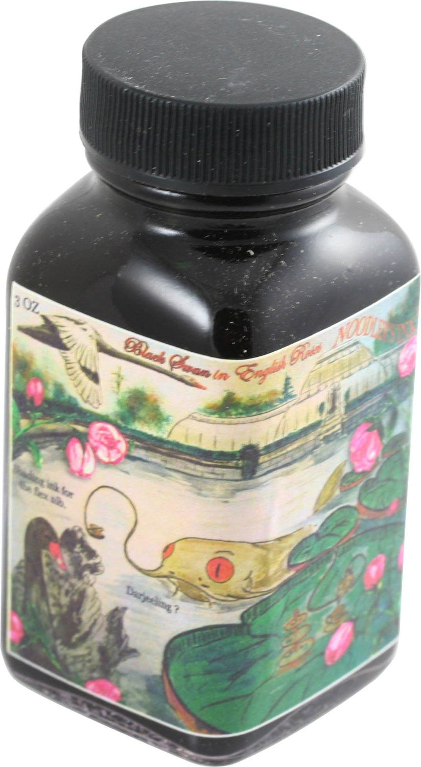 Noodler's Ink Black Swan in English Roses 3 oz