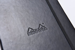 Rhodia Webnotebook Black 5 1/2 X 8 1/4 Lined