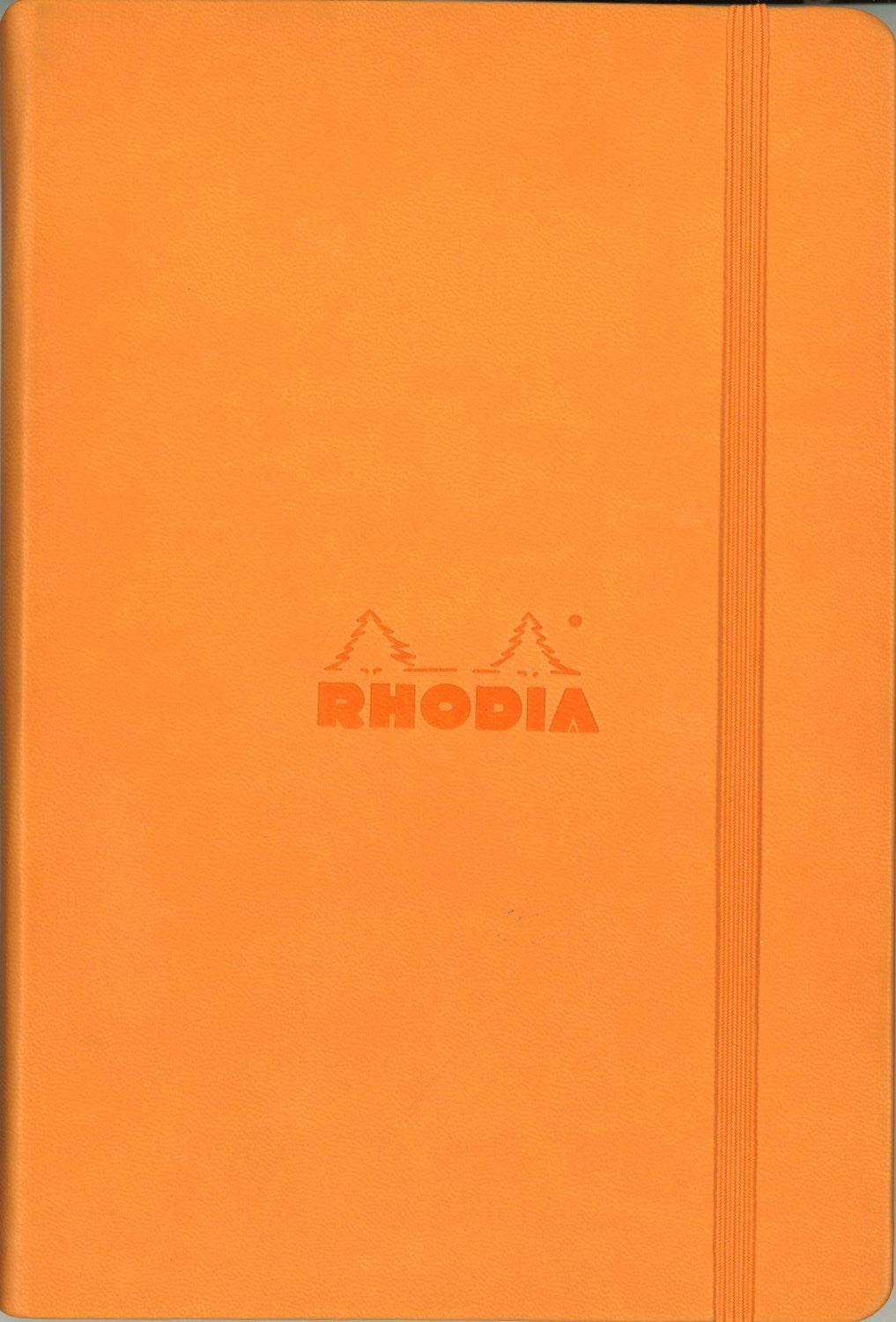 Rhodia Webnotebook A5 Dot grid Orange