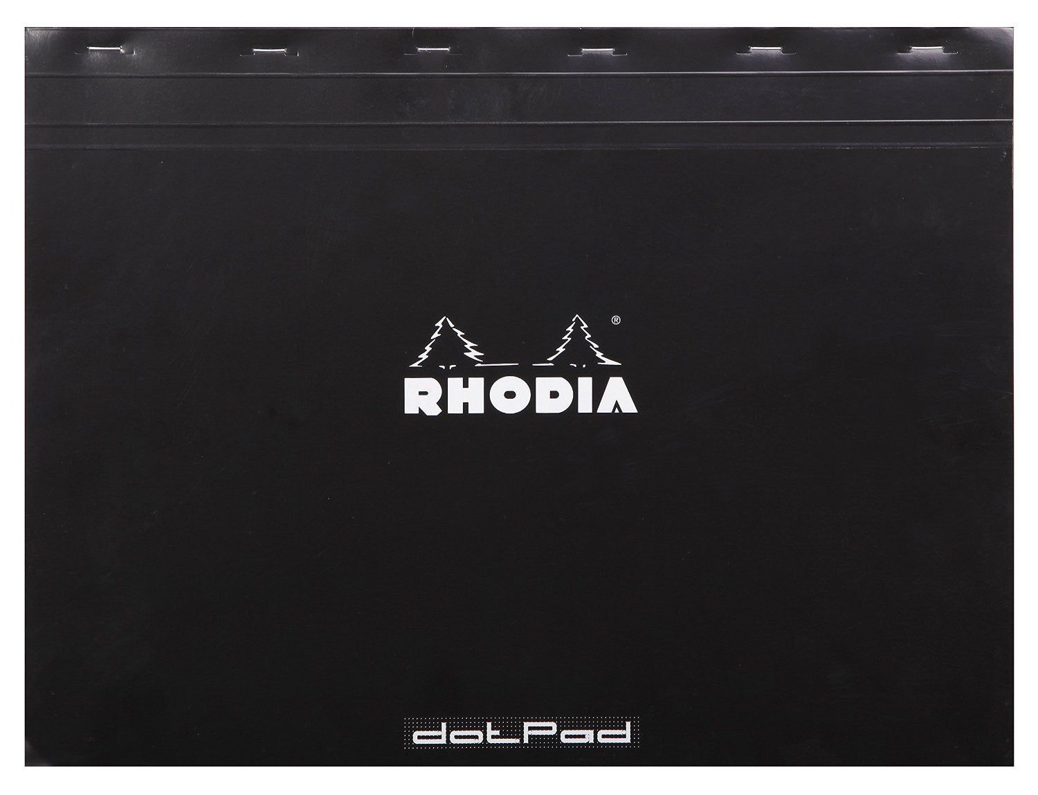 Rhodia Black Dot Pad 16.5x12.5""