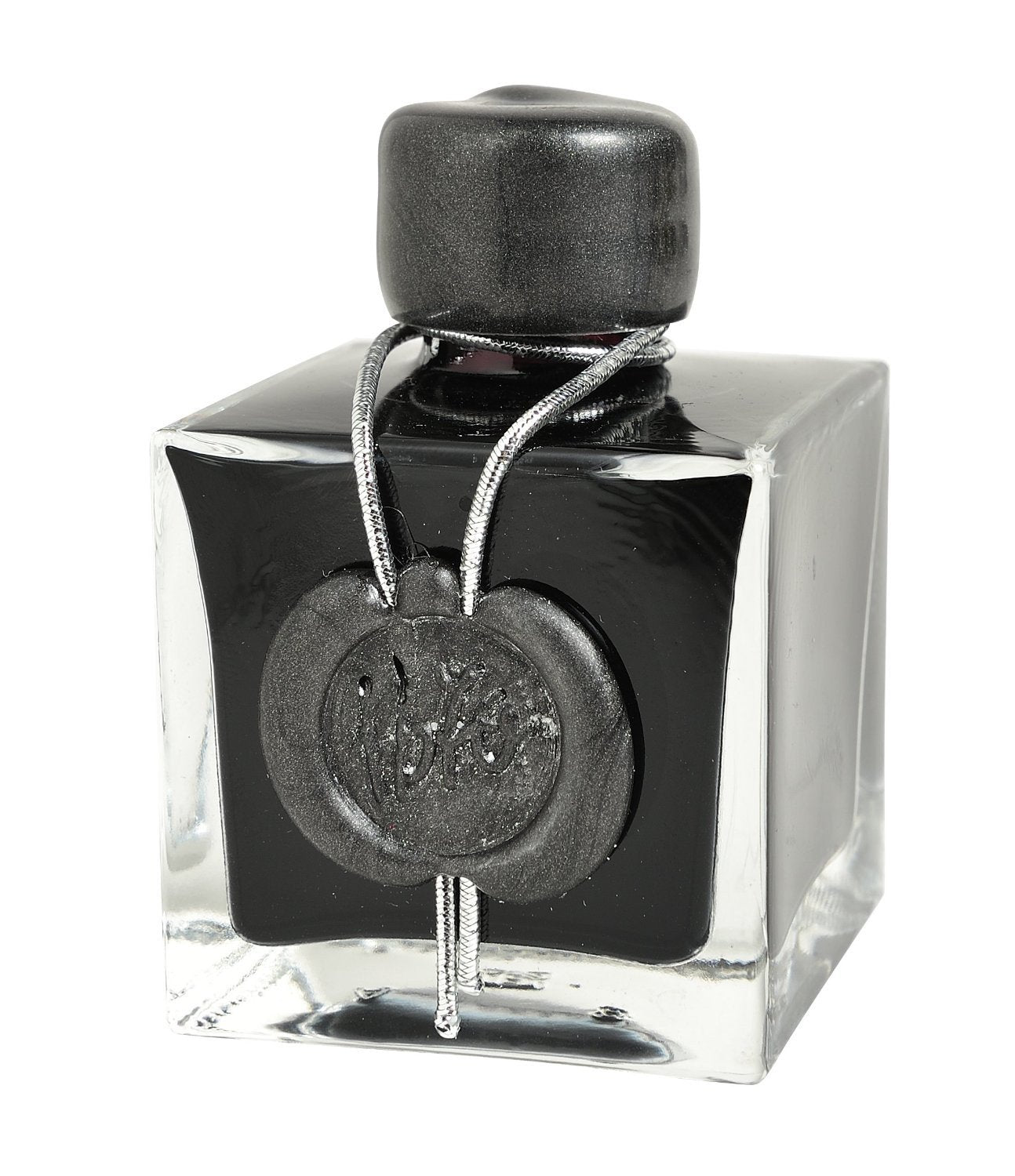"J. Herbin Anniversary Ink ""1670"" Gift box with 50ml Bottle Stormy Grey"