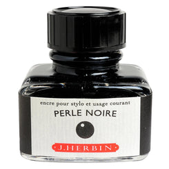 J. Herbin La Perle des Encres Fountain Pen Ink Bottled 30 ml Perle Noire
