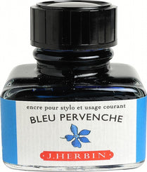 J. Herbin La Perle des Encres Fountain Pen Ink Bottled 30 ml Bleu Pervenche