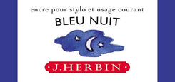 J. Herbin La Perle des Encres Fountain Pen Ink Bottled 30 ml Bleu Nuit