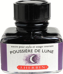 J. Herbin La Perle des Encres Fountain Pen Ink Bottled 30 ml Poussiere De Lune