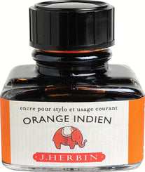 J. Herbin La Perle des Encres Fountain Pen Ink Bottled 30 ml Orange Indien