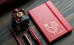 Rhodia Year of the Rooster 6 1/4 x 9 1/4 Habana Bound Journal