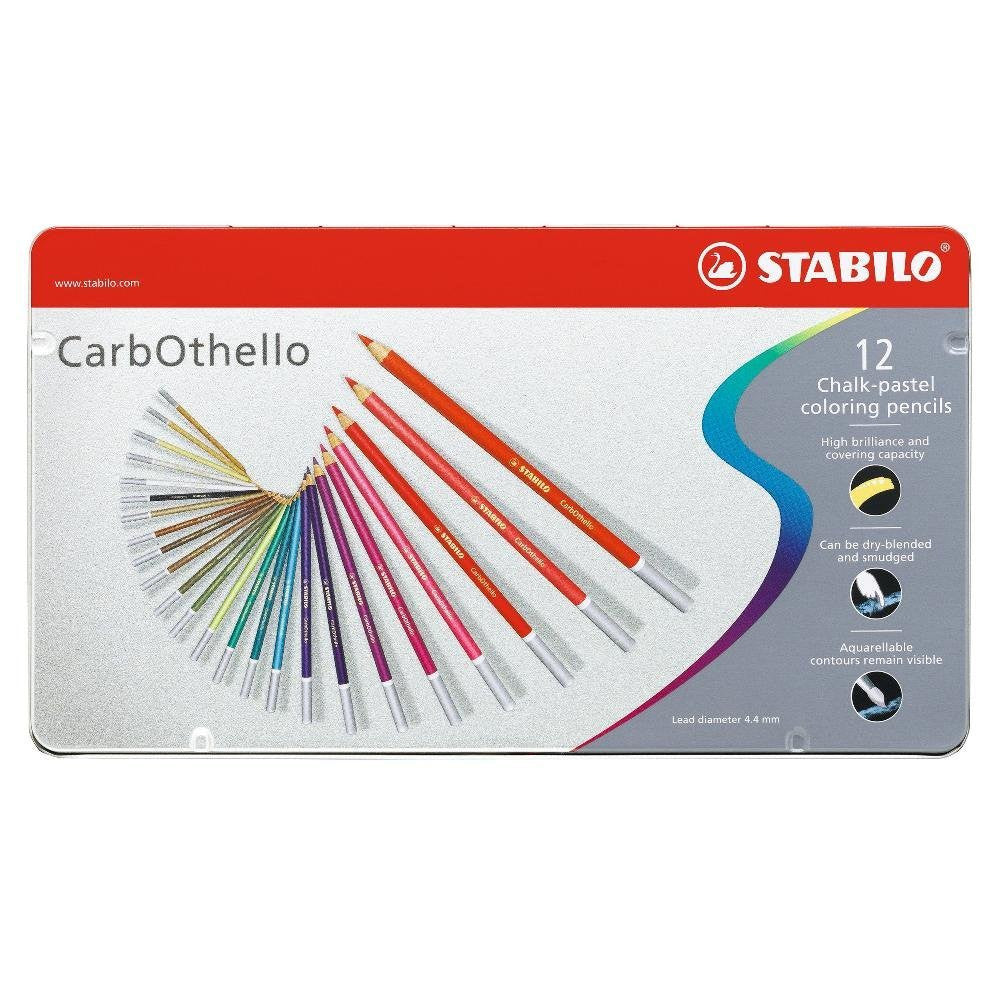 Stabilo Carb-Othello Pastel Pencil Sets set of 12