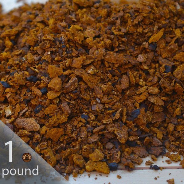 1 lb. Wild and Raw Chaga Coarse Grind