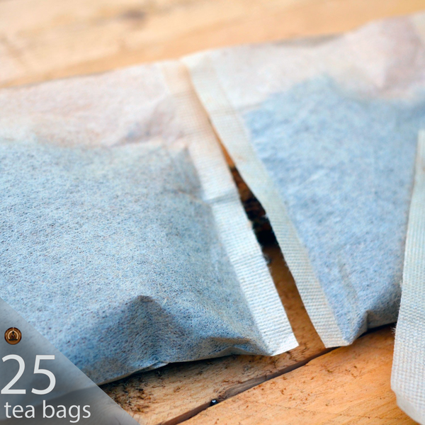 25 ct. Wild and Raw Chaga Tea Bags