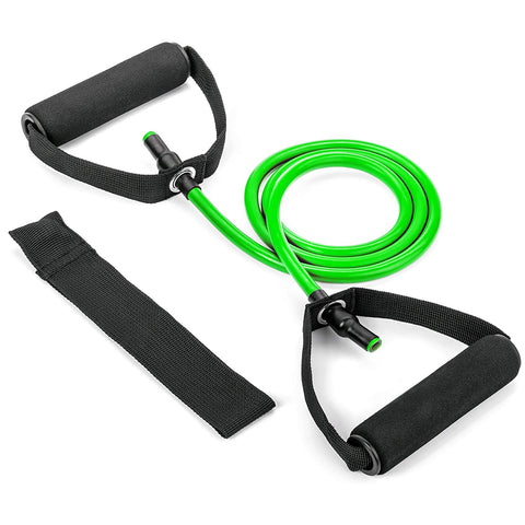 3pc Single Resistance Band - Green 15LBS - Tribe Fitness