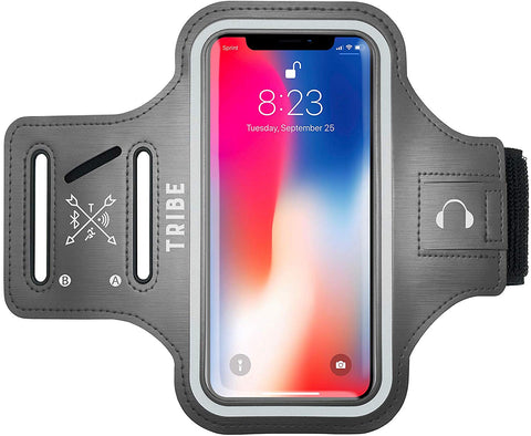 Comrade AB37-X Sports Armband in Grey for Medium Sized Smartphones - Tribe Fitness