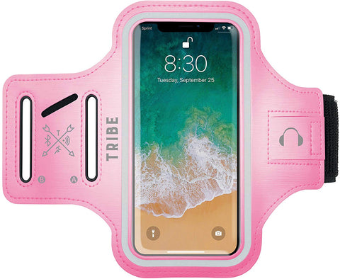 Comrade AB37 Sports Armband in Light Pink for Small Sized Smartphones - Tribe Fitness