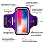 Comrade AB37 Sports Armband in Purple for Small Sized Smartphones - Tribe Fitness