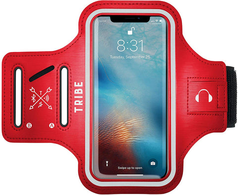 Comrade AB37 Sports Armband in Red for Small Sized Smartphones - Tribe Fitness