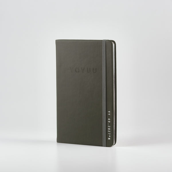 "YOYUU ""TO BE CONTINUED"" NOTEBOOK (GREY)"