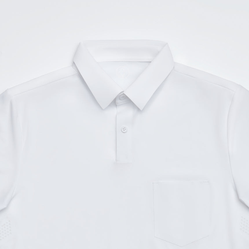 Prospect Point Polo (White)
