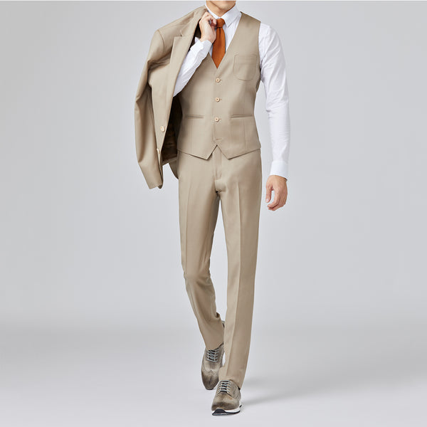 Mt. Pleasant DWR Suit Jacket <br> Latte Tan