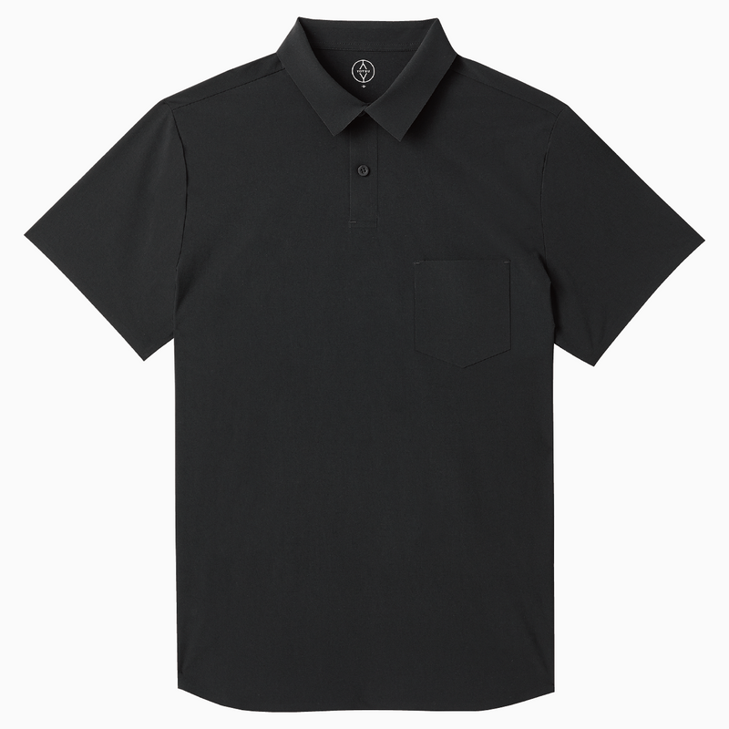 Prospect Point Polo <br> Coal Black