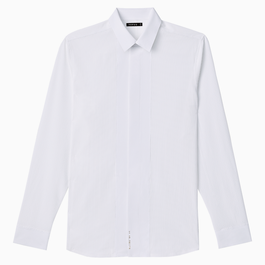 Ambleside Aer-360® Dress-Shirt (Tundra White)
