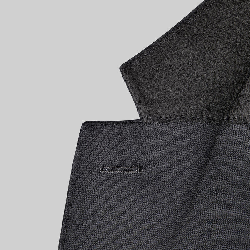 Yaletown DWR Suit Jacket <br> Midnight Black
