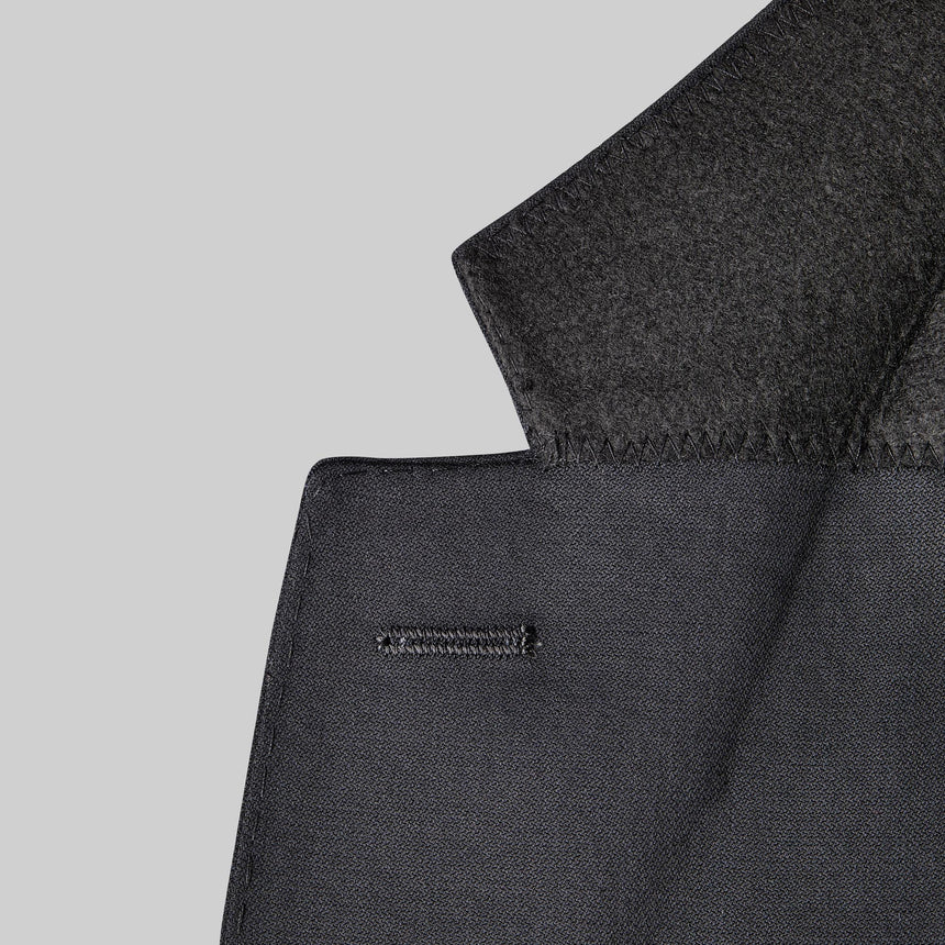 Yaletown DWR Suit Jacket (Midnight Black)