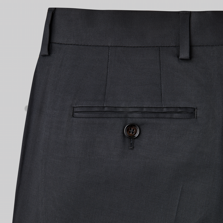 Yaletown DWR Suit Pant (Midnight Black)