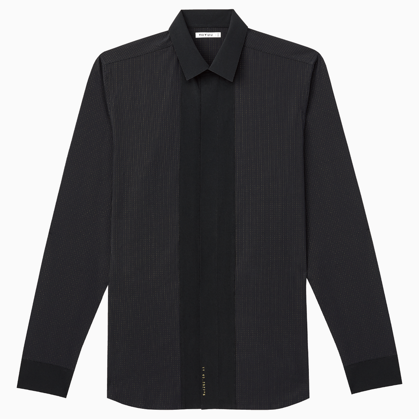 Ambleside Aer-360® Dress-Shirt (Coal Black)